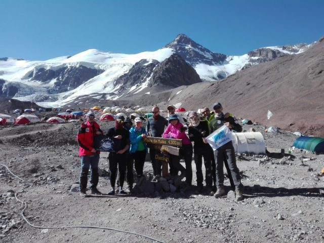 expedition on aconcagua