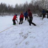 winter alpine course
