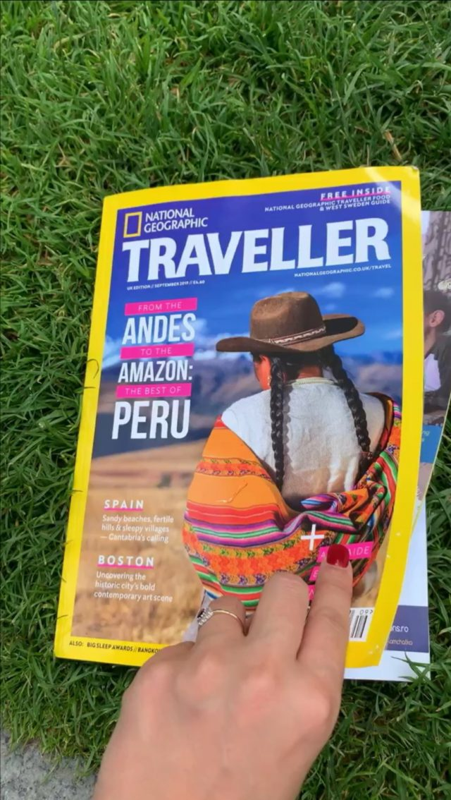 Extreme Expeditions in National Geographic Magazine